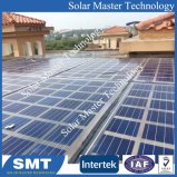 Montage sur panneau solaire en aluminium anodisé toit de tuile accrochez les supports système PV
