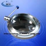 Aço inoxidável Sanitária Válvula Borboleta (DN15-DN600)