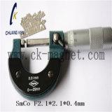 Ck 215 SmCo 자석 급료 F2.1*2.1*0.4mm