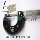 Ck-215 SmCo imán grado F2,1*2.1*0,4 mm