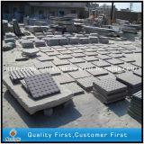 G603 Straatsteen van het Graniet van de Sesam de Witte Gevlamde voor Landschap