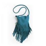 Bolso de moda Wzx1139 de la franja de las señoras de bolso de la borla de la PU