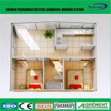 Camera vivente del contenitore isolamento domestico prefabbricato della toletta/di memoria personalizzata 20FT