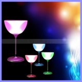Colorul Bluetooth Cafe 또는 Restaurant/Bar Desktop Goblet Wine Glass Shaped RGB Speaker LED Table Desk Lamp Speakers
