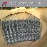 Feuille ondulée galvanisée plongée chaude de toiture de Sgch