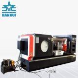 Macchina del tornio di CNC di alta precisione con la base piana
