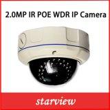 cámara a prueba de vandalismo del IP de la seguridad del CCTV de 2.0MP WDR IR Cmos