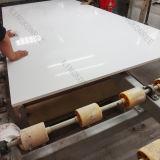 Faísca Branco Artificial pedra de quartzo Slab Pisos & painel de parede