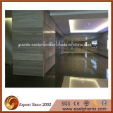Guizhou Polished Wood Line Marble Stone Tile para Exterior Wall Tile