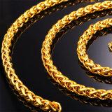 Цепь ожерелья оптовой нержавеющей стали ожерель способа ювелирных изделий Twisted