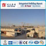 Campo de trabajo de construcción temporales prefabricados