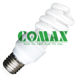 Half Spiral T3 7W ~ 18W lampe fluorescente compacte Energy Saving Light