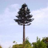 Camuflado Árvore Artificial ramos de palmeiras Torre de microondas da Antena
