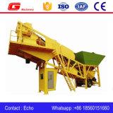 Pianta d'ammucchiamento concreta mobile Yhzs25 con il silo di cemento 100ton