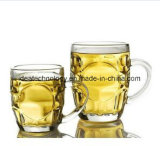 500ml de bière en verre de couleur claire de l'Ananas tasses de thé avec poignée