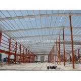 La estructura de bastidor de acero de almacenes de lujo