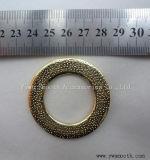 Inarcamenti di cinghia poco costosi del sacchetto della lega decorativa del metallo di modo per gli accessori per il vestiario