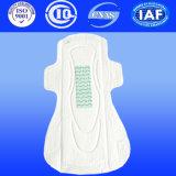 Mesdames des serviettes hygiéniques avec du coton serviette hygiénique avec l'anion Lady serviette de table (à140)