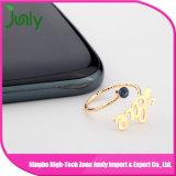 De goedkope Ringen van de Diamanten bruiloft van het Kristal van de Douane Unieke Gouden voor Vrouwen