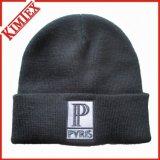 Chapéu de crochê de malha de promoção de acrílico 100%