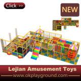Малыши разделяют на зоны крытое мягкое оборудование спортивной площадки тренировки (T1505-6)