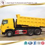 Sinotruk 6X4 HOWO 371HP A7 무거운 덤프 트럭 및 판매에 사용되는 팁 주는 사람 트럭
