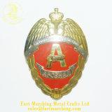 カスタム金属によって蝶番を付けられる機密保護の折りえりPinの記念品の賞およびプラク