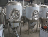 O melhor tanque de lustro e o Unitank da fermentação da cerveja