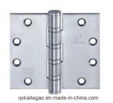 """(4.5 """" X5 """" X4.5mm-4BB)木のドアのためのステンレス鋼のドアヒンジ"""