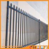 表面によって溶接される電流を通された鋼鉄管状の防御フェンス