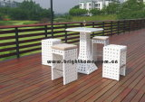 Garten-Möbel-Rattan-Stuhl Tabe Stab-Set