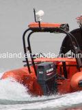 Sistema correcto del uno mismo de Aqualand para los botes patrulla/uno mismo de la costilla correcto los bolsos/Srb para los barcos/el barco de motor militares del rescate (SRB)
