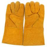 Ред Кау Split кожаные перчатки сварки