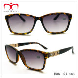 Square Frame와 Metal Decoration (WRP409005)를 가진 숙녀 일요일 Reader Glasses