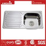 Conseil de vidange évier, acier inoxydable pour montage supérieur de la cuvette unique évier de cuisine avec le Conseil de vidange