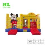 Het Springen van het Stuk speelgoed van Mickey de Opblaasbare Producten van het Kasteel