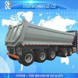 반 모래 수송 팁 주는 사람 덤프 트럭 트레일러
