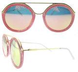 女性のための2016年のイタリアデザイン新製品の円形のサングラス
