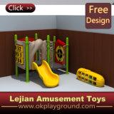 耐久の子供の屋外の娯楽運動場装置(X1501-4)