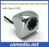 170 Degree Metal housing hp Car Rearview Camera with 8PCS LED Night vision