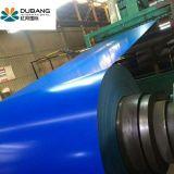Impermeabilización de cubiertas de acero azul marino PPGI Material haciendo