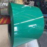 SGCC Grade d'acier galvanisé prélaqué acier recouvert de couleur