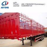 Der 3 Wellen-Viehbestand/das Geflügel transportieren Ladung-Schlussteil/Stange-LKW-Schlussteil