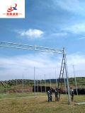 Estructura del invernadero en el sitio de Anqiu
