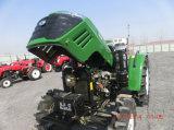 John Deere Hx504 Tracteur 4 roues motrices avec lame à neige / Chargeur frontal