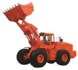TM966 6tonのWeichaiエンジンを搭載する重い車輪のローダー