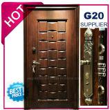 2017年の中国の最上質の外部の金属の鋼鉄機密保護のドア(EF-S131B)