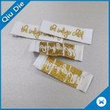 Ярлыки высокого качества сплетенные ценой по прейскуранту завода-изготовителя для ткани одеяния