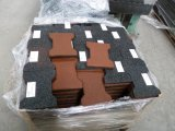 옥외 Rubber Tile 또는 Square Tile Rubber /Interlocking Rubber Tiles Pavers
