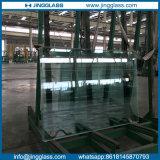オフィスのドアのための低い鉄の平らな緩和されたガラス